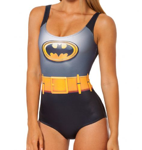 Swimsuit - Batman Design